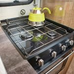 Bailey Pursuit Thetford Triplex Combination Oven and Grill with 3 Burner Hob