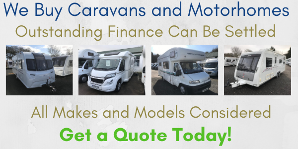 We Buy Caravans and Motorhomes
